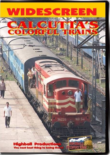Calcutta's Colorful Trains $30.00 OFF SOLD BELOW COST