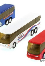 Coach Bus - Welcome to USA - Red White Blue