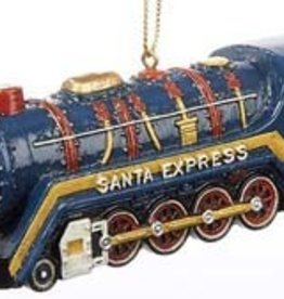 Santa Express Ornament