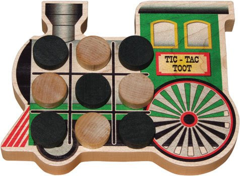 Train Tic-Tac-Toot
