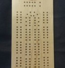 Custom Engraved STM Cribbage Board
