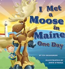 Applewood Books I Met a Moose in Maine One Day