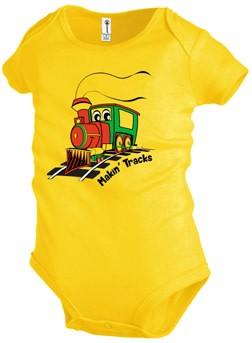 Born Rail Products Let's Make Tracks Shirt / Makin' Tracks Onsie
