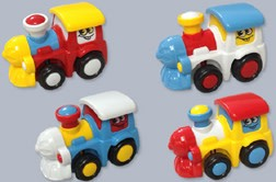 Funny Face Friction Train - Discontinued