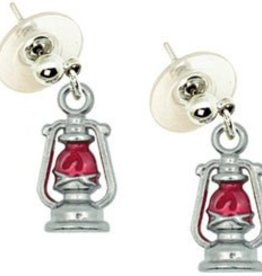 Train Lantern Earrings