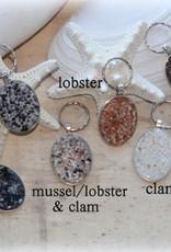 Maine Shellware Sea Shell Keychain