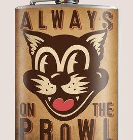 Trixie & Milo On the Prowl Flask