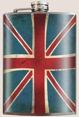 Trixie & Milo Union Jack Flask