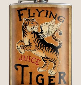Trixie & Milo Flying Tiger Flask