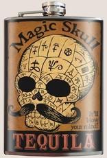Magic Skull Flask