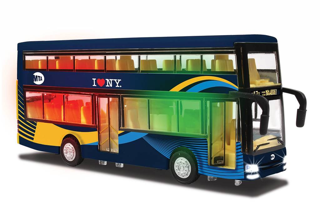 MTA Double Decker Bus (New Blue Livery)