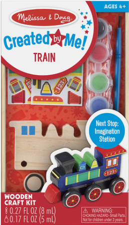Created by Me! Wooden Train (Red Box)