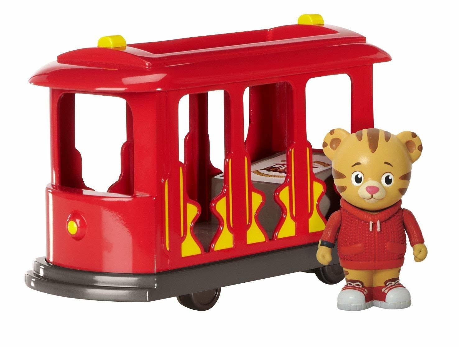 Daniel Tiger's Neighborhood Trolley w/ Daniel Tiger Figure