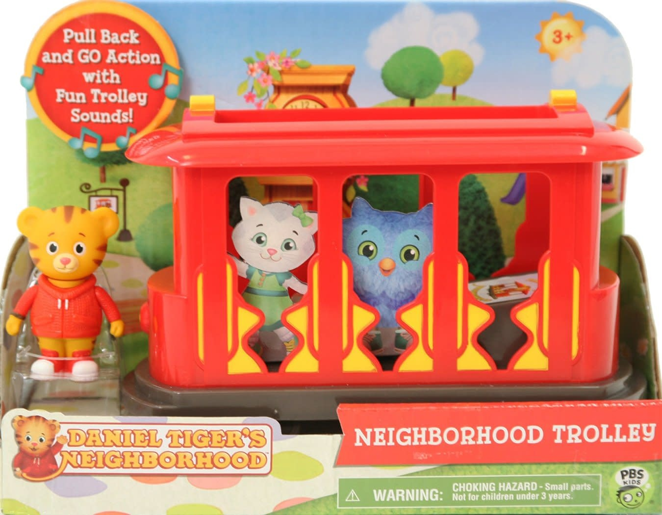 Daniel Tiger's Neighborhood Trolley w/ Daniel Tiger Figure