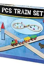 Wooden Figure 8 Train Set 32 pieces
