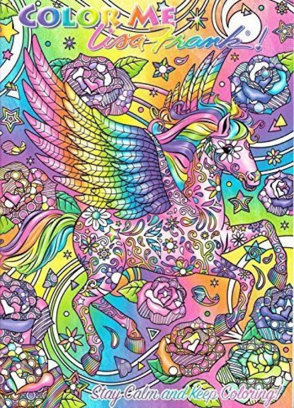 Lisa Frank Adult Coloring Book