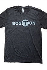 Adult Boston T logo T-Shirt Men's Black X-Large