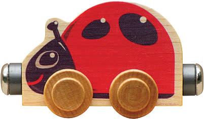 NAMETRAIN ACCESSORY CARS LIZZIE LADYBUG