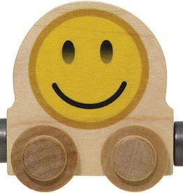 NAMETRAIN ACCESSORY CARS SMILE EMOJI ROUND CAR