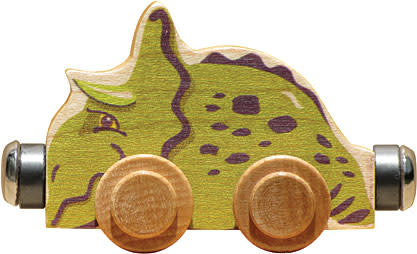 NAMETRAIN ACCESSORY CARS SPIKE THE TRICERATOPS