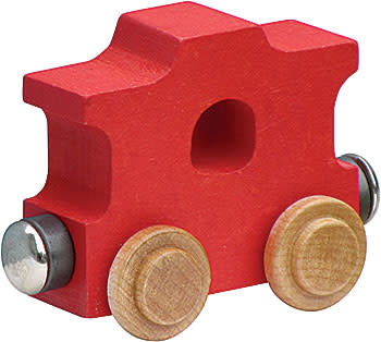 NAMETRAIN BRIGHT COLOR CABOOSE