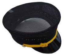 Conductor Uniform Hat *Special Order* Summer Mesh (adjustable)