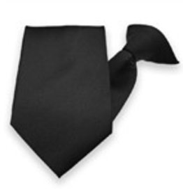 "22/23"" Black Uniform Tie"