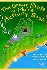 MidRun Press Great State of Maine Activity Book