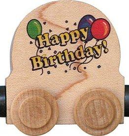 Name Train Happy Birthday