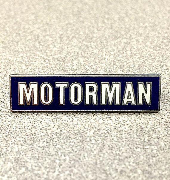 Tie Tac, Motorman (Pin)