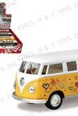 Peace and Love Bus VW Bus w Surfboard