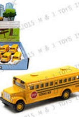 "2.5"" Yellow Bus Keychain"