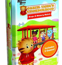 Daniel Tiger's Neighborhood Bingo & Memory 2-in-1