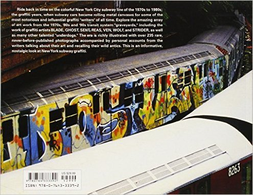 Schiffer Publishing New York Subway Graffiti