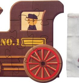 Maple Landmark Train Engine Puzzle No 1