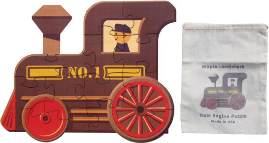 Train Engine Puzzle No 1