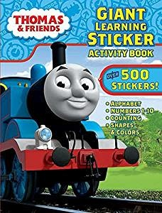 Thomas & Friends Super Coloring & Sticker Activity Book