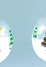Train & Engineer Snowman