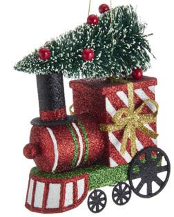 Christmas Train with Tree