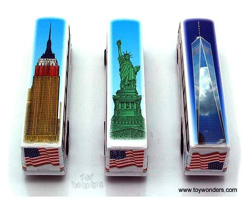 """NYC Coach Bus 6"""" Painted Tops"""