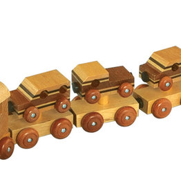 9 pc. Wooden Magnetic Train Set