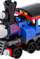 74 pc Mini-Block Train Set (lego)