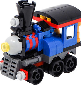 74 pc Mini-Block Train Set (lego)