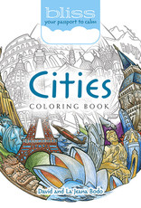 BLISS Cities Coloring Book: Your Passport to Calm