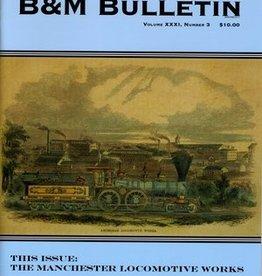 B & M Bulletin 2019 #3 (Vol XXXII. Number 1)