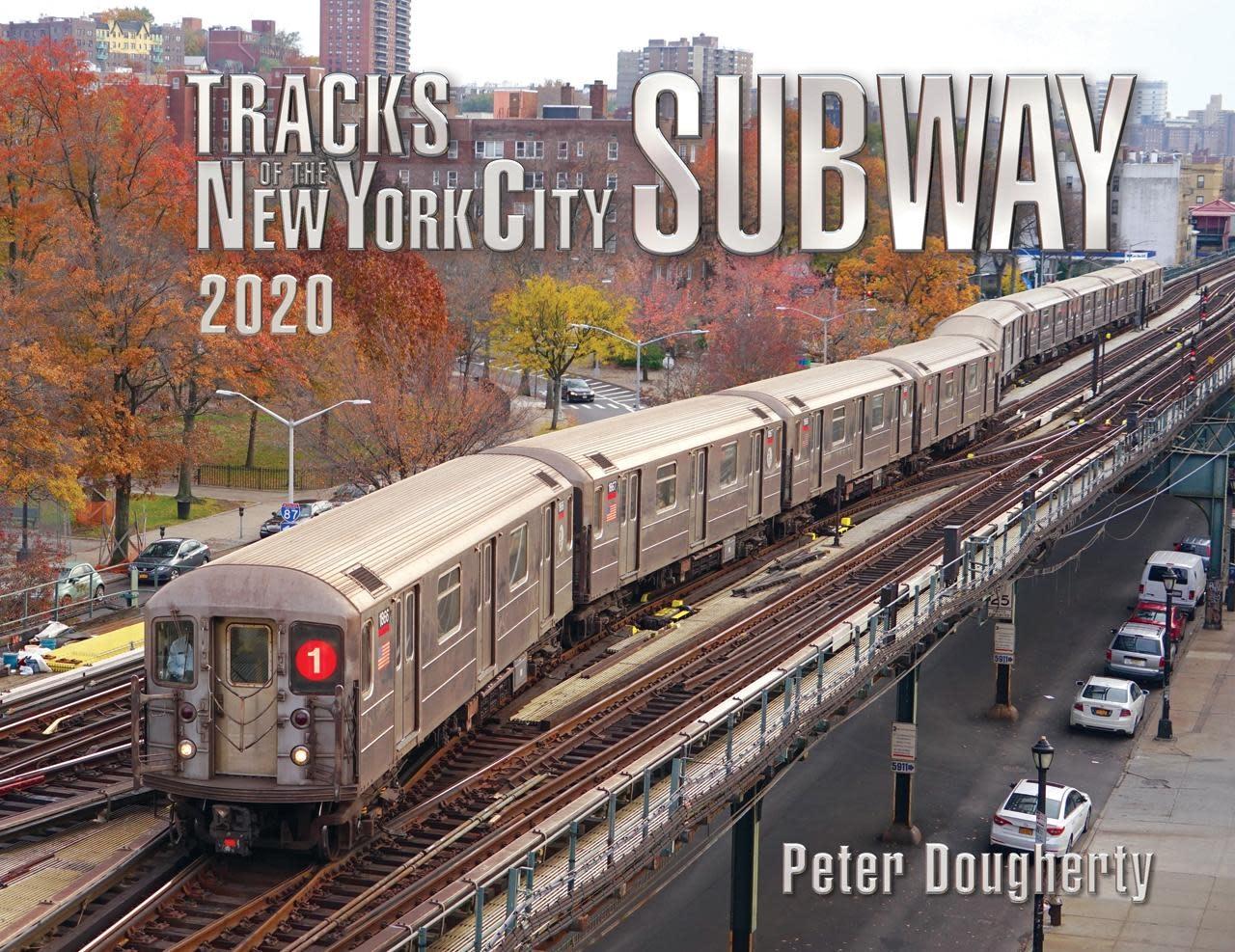 Tracks of the New York City Subway 2020- Signed