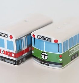 MBTA Salt & Pepper Shakers - Boxed Set