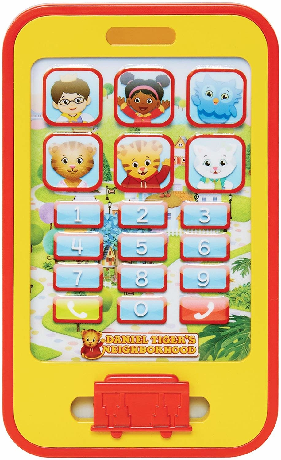 Daniel Tiger's Neighborhood Cell Phone Toy
