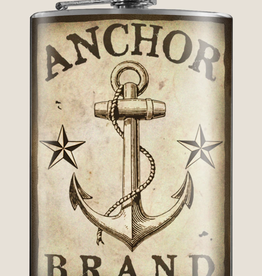 Anchor Brand Flask