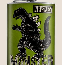 Trixie & Milo Whiskey Monster Flask